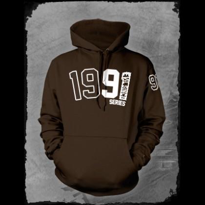 Brown 1991 hoodie