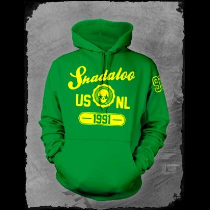 Crazy Green Ballpark hoodie