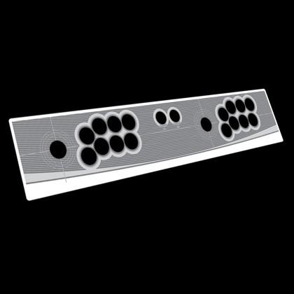 Namco Blanc repro 2 player control panel